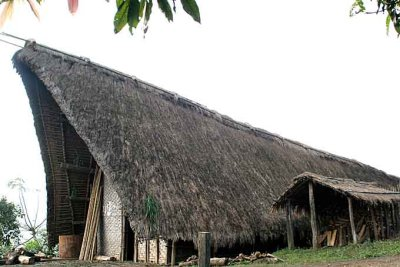 the morung in Laisong, North Cachar Hills, Assam, India