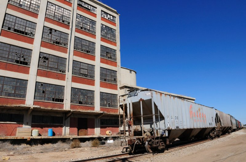 Great Bend KS Hopper Cars