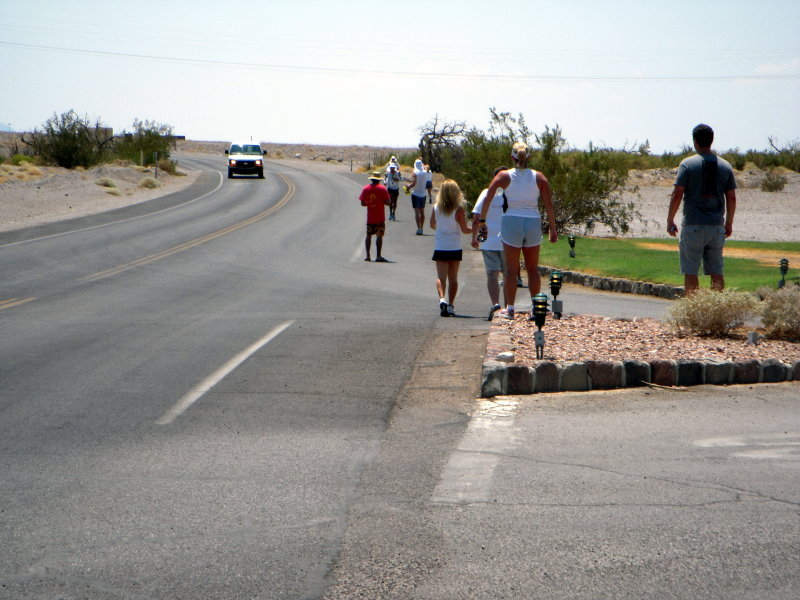 here comes Jorge into FC, mile 17