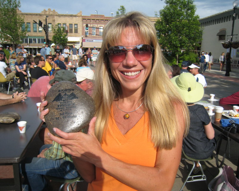 my 3rd place 40-49 age group award