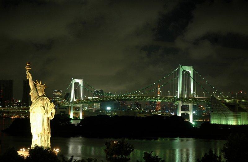 Odaiba by night _ Tokyo