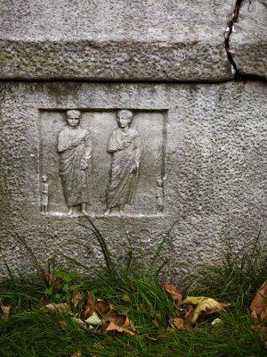 Roman sarcophagus, Istanbul, Turkey, 2009