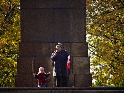 Spectators, University Park, Kiev, Ukraine, 2009