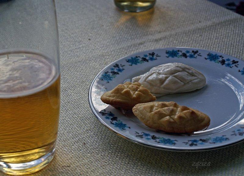 fresh oscypek taste yummy with beer