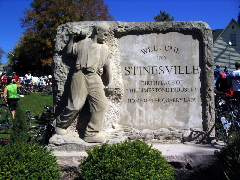 Stinesville, home of limestone