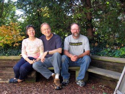 Gretchin, Doug and me
