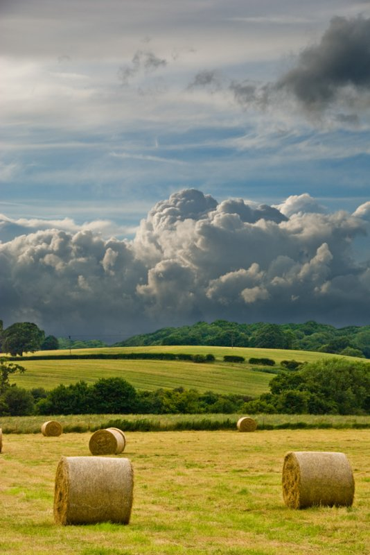 Clouds & Bales 3