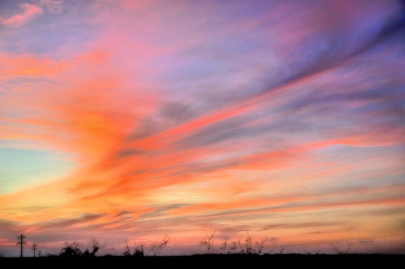 Powerline sunset #1