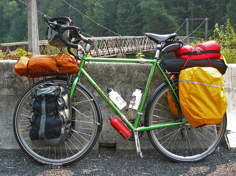 110  John - Touring Idaho - Co-Motion Americano Co-Pilot touring bike