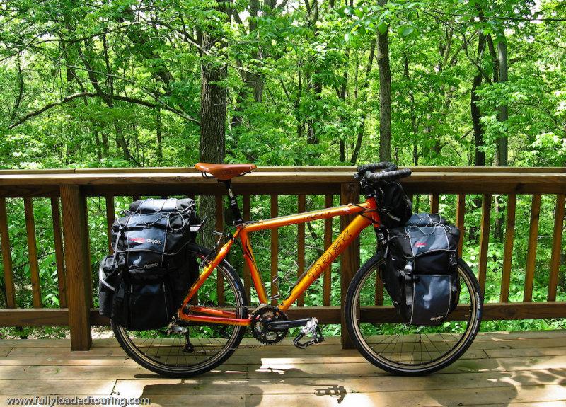 288    Rob - Touring Illinois - Trek 6500 touring bike