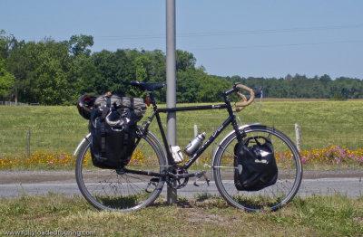 285    Dan - Touring Florida - Raleigh One Way touring bike