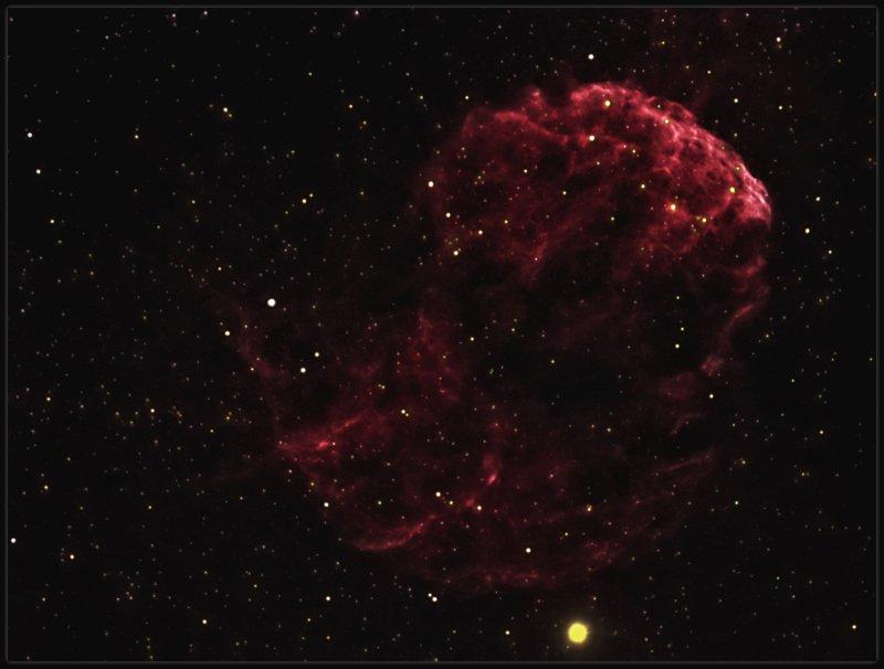 IC 443 - THE JELLYFISH NEBULA