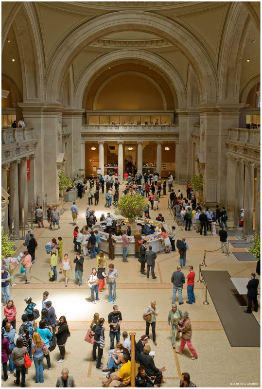 The Great Hall at the Metropolitan Museum of Art 2008  2