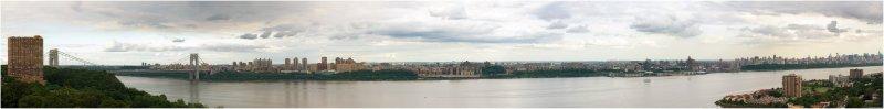 Summer Balcony Panorama