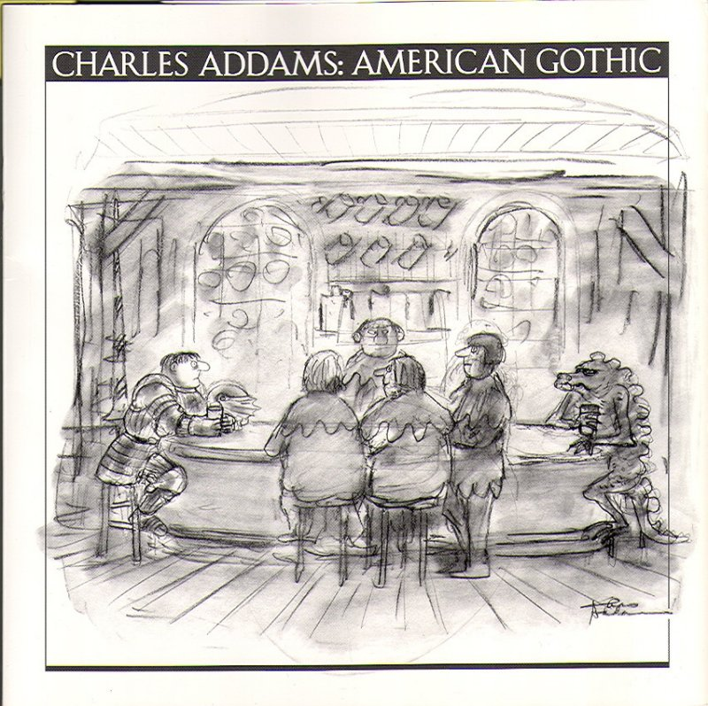 Charles Addams:  American Gothic