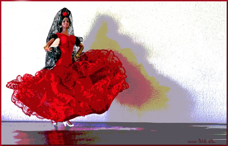The Colors of Flamenco