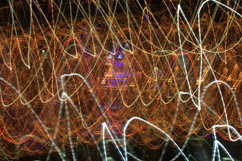 time-lapsed lights