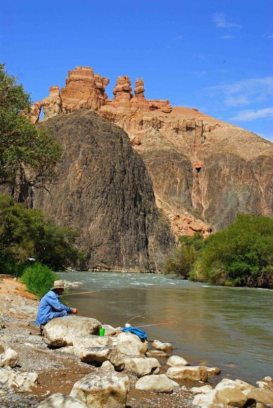 Charyn River, Kazakhstan