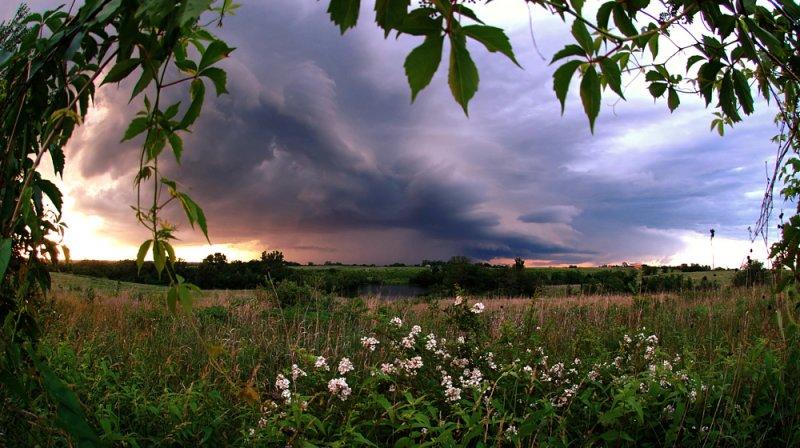 Framed Storm Front