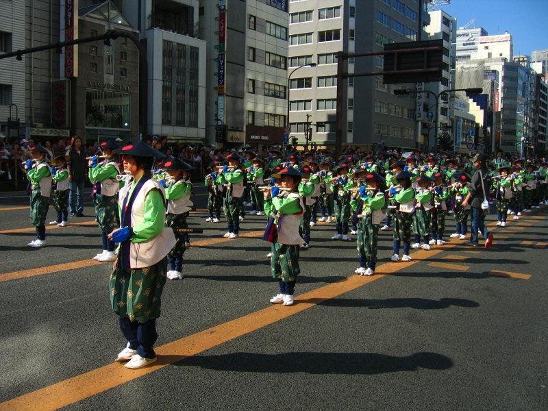 Shakuhachi procession