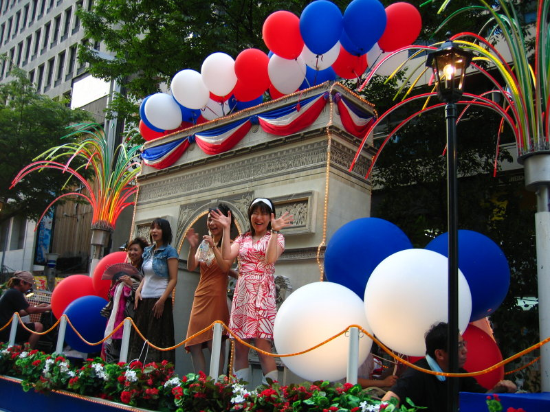 A taste of Paris in the parade