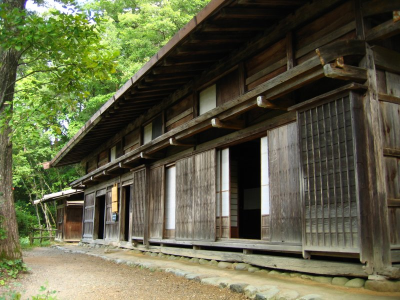 Arai House in Hida Folk Village