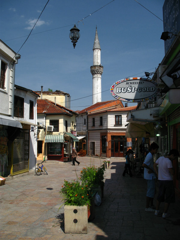 Shops in Čaršija
