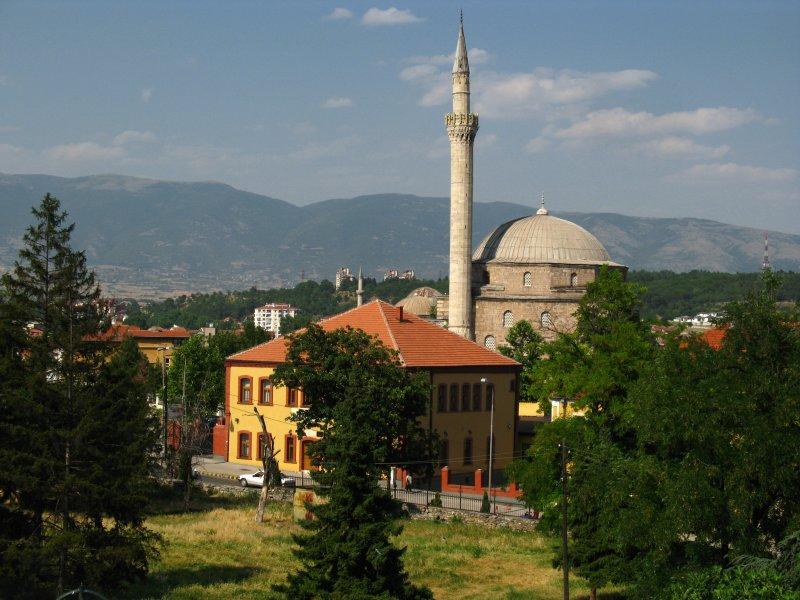 Restored Ottoman villa with Mustafa Paša Mosque