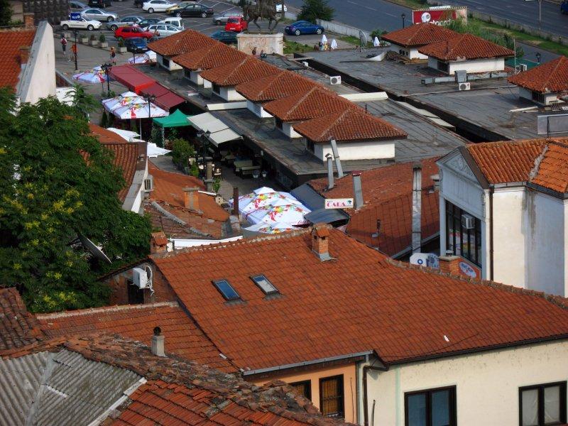 Rooftops in Čaršija