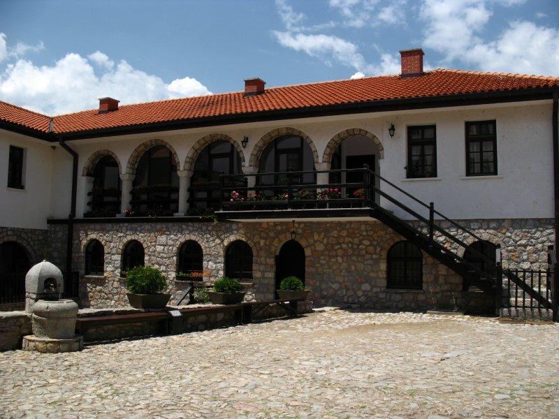 Monastic building, Sveti Naum