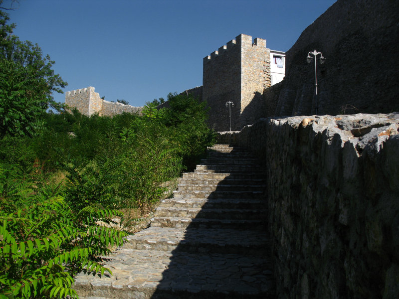 Walls beyond the Upper Gate