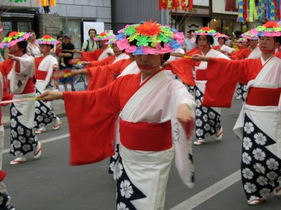 Dancer in the parade