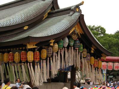 Main hall of Masumida-jinja and