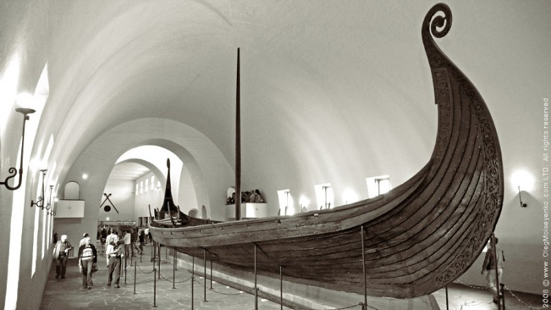 True Viking Ship from XII century, Oslo