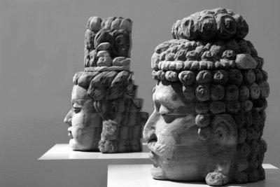Buddha heads by Long Bin Chen, Taiwan