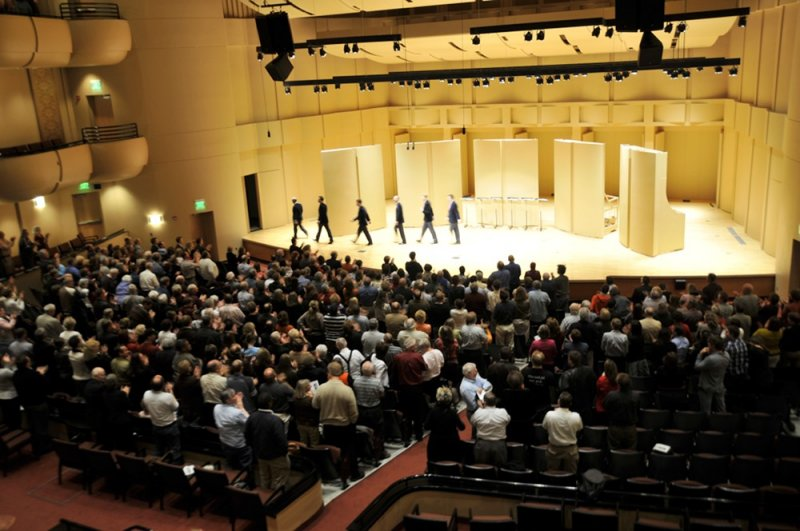 Standing Ovation for The Kings Singers at ISU Performing Arts Center, Pocatello, Idaho _DSC4667.JPG