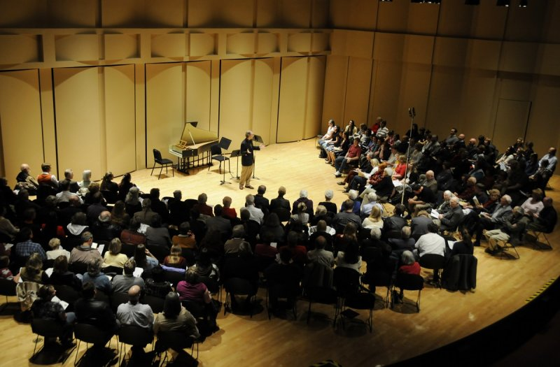 Geoff Friedley as Organizer of ISU Baroque Festival at Performing Arts Center _DSC4736.JPG