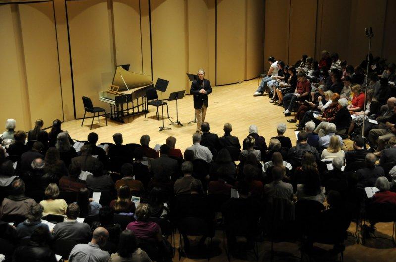 Geoff Friedley as Organizer of ISU Baroque Festival at Performing Arts Center _DSC4739.JPG