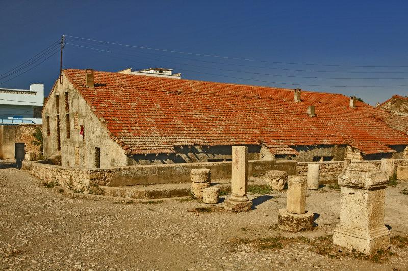 The first mosque built in algeria by the sahabi abou mouhajir dinar (raa)Mila.