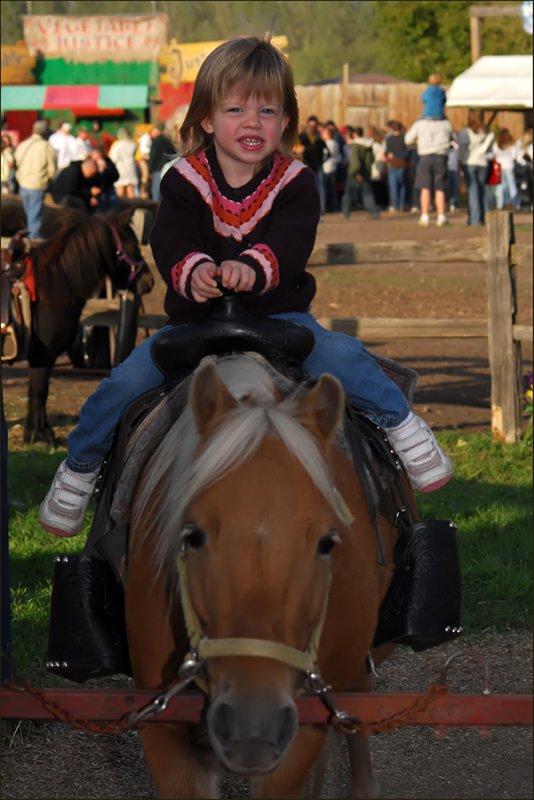 Caitlins horse ride