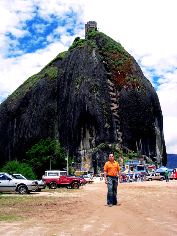 Guatape  Antioquia.. El Peñon