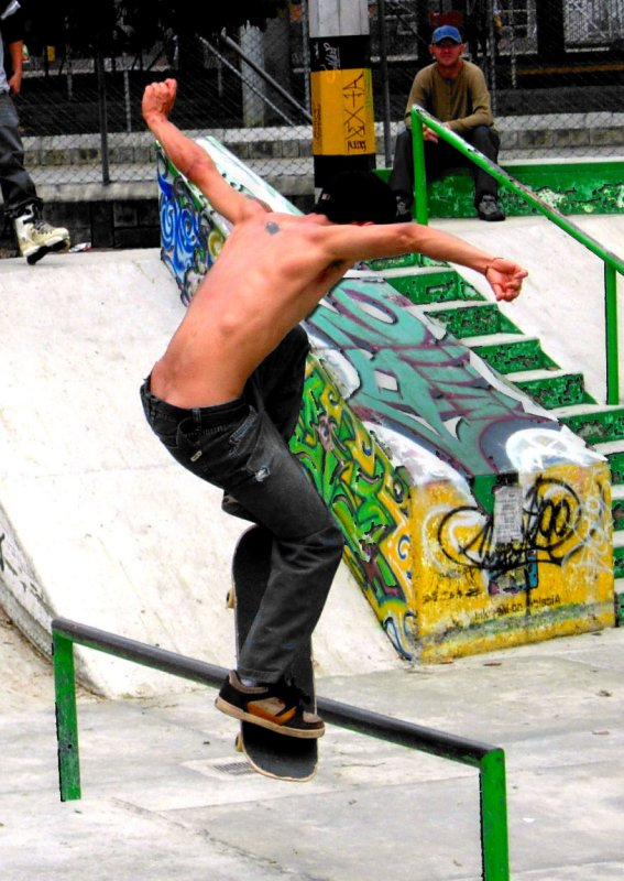 Skaters  Medellin