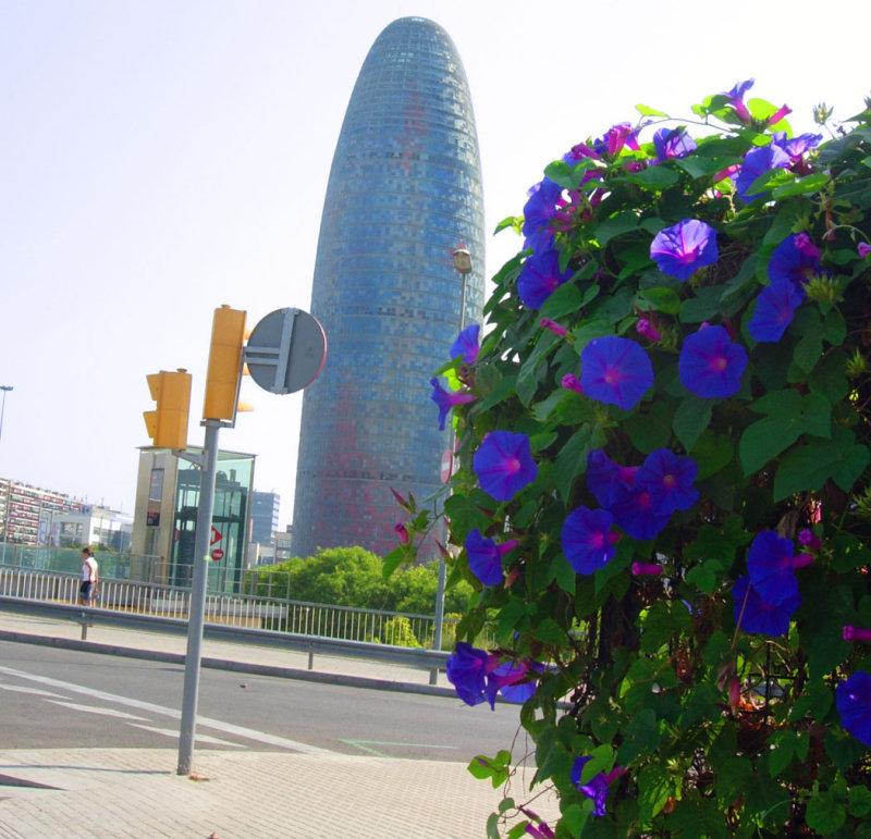 Torre Agbar, Aguas De Barcelona