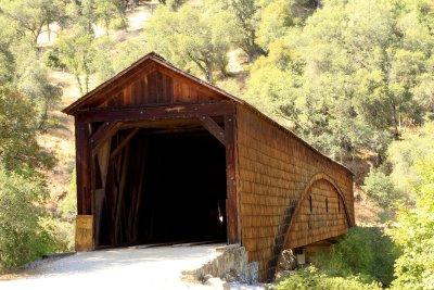 Covered Bridge on Yuba River