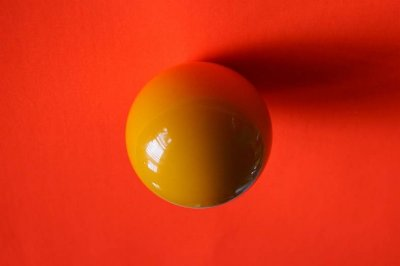 Pool Ball Upside down