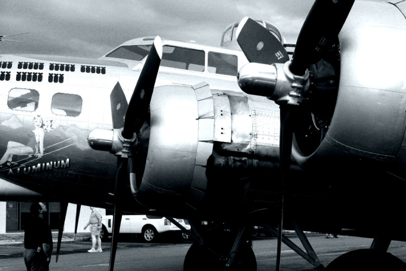 B-17 Flying Fortress Detail