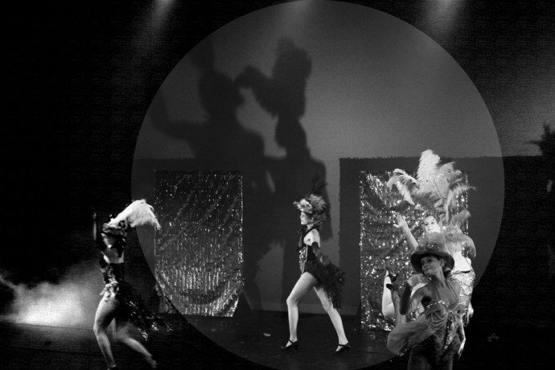 Moulin Rouge in B&W