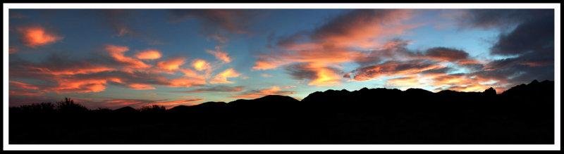Dragoon Mountain Sunset
