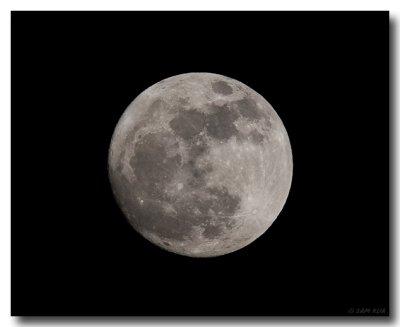 Moon Almost Full