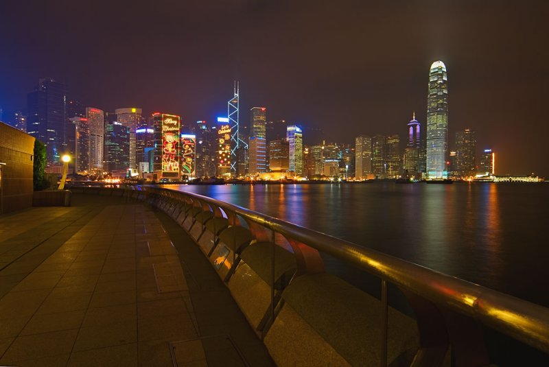 Wanchai Seafront Promenade